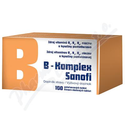 B-komplex Sanofi por.tbl.flm.100 Glass