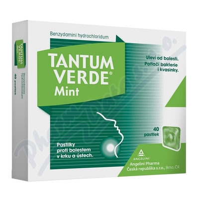 Tantum Verde Mint 3mg pas.40