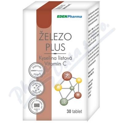Edenpharma Železo Plus tbl.30