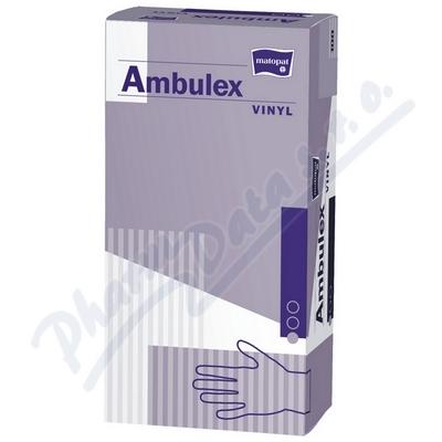 Ambulex Vinyl rukavice vinylové pudrované L 100ks