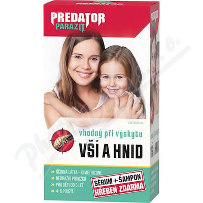 Predator Parazit 2x100 ml+hřeben