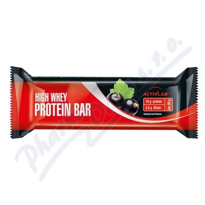 ActivLab Proteinová tyčinka černý rybíz 80g