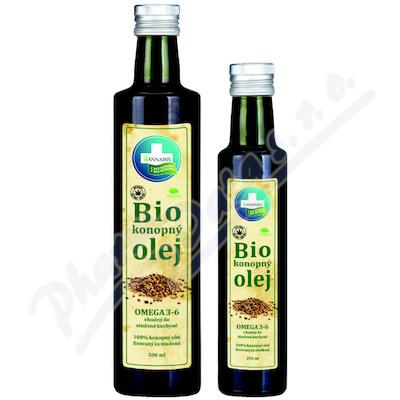 100% Bio konopný olej 250ml