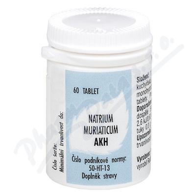 AKH Natrium muriaticum tbl.60