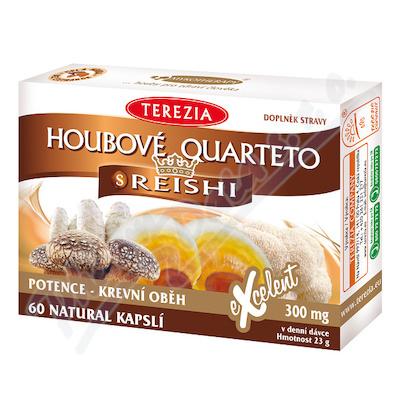 TEREZIA Houbové Quarteto s reishi cps.60