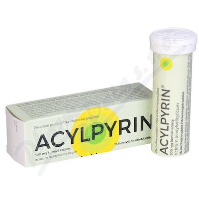 Acylpyrin 500mg tbl.eff.15x500mg