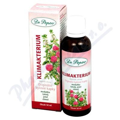 Dr.Popov Kapky bylinné Klimakterium 50ml