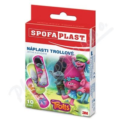 3M Spofaplast 113 Děts.náplasti Trollové 10ks