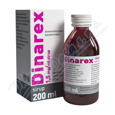 DINAREX 1.5mg/ml por.sol. 1x200ml I