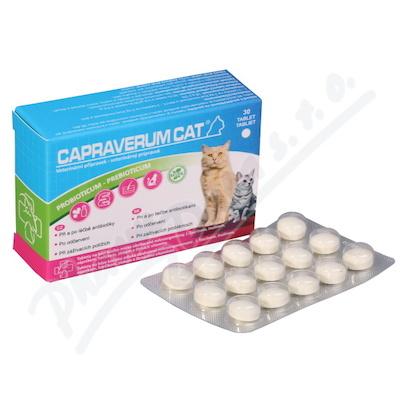 Capraverum Cat probioticum-prebioticum tbl.30