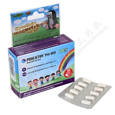 PROLACTON Pro děti 30 tobolek + dárek