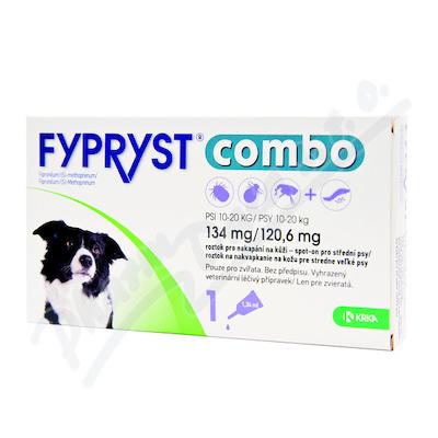 FYPRYST combo 1x1.34ml spot-on pro psy 10-20kg