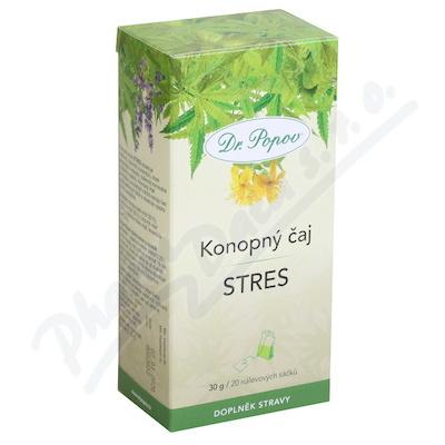 Dr.Popov Čaj konopný Stres 20x1.5g