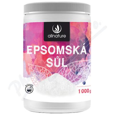 Allnature Epsomská sůl 1000 g