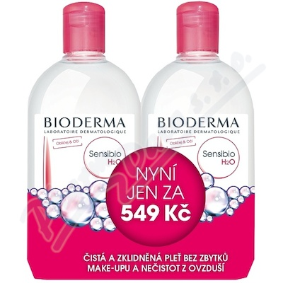 BIODERMA Sensibio H2O 500ml 1+1 Festival