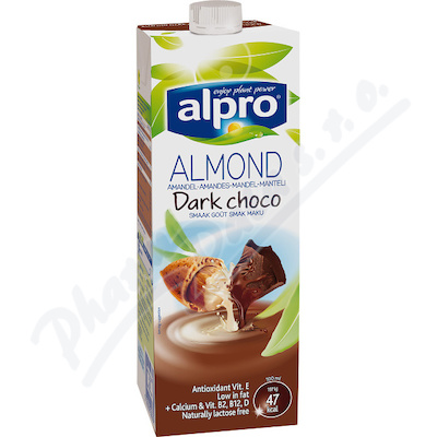Alpro Mandlový nápoj hořká čokoláda 1l