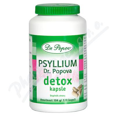 Dr.Popov Psyllium Detox cps.120