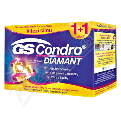 GS Condro Diamant tbl.120+40 Vánoce 2018