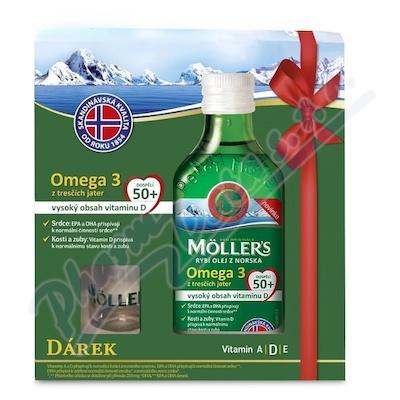 Mollers Omega 3 50+ 250ml dárkové balení