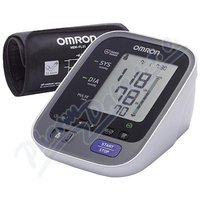 Tonometr OMRON M7 Intelli IT+ZDROJ (SET)+5let zár.