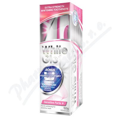 WHITE GLO Sensitive bělící zubní pasta 150g