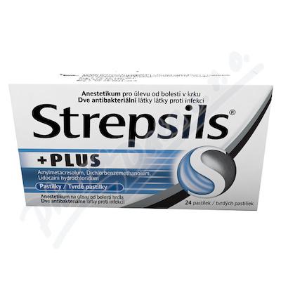 Strepsils Plus 0.6mg/1.2mg/10mg pas.24