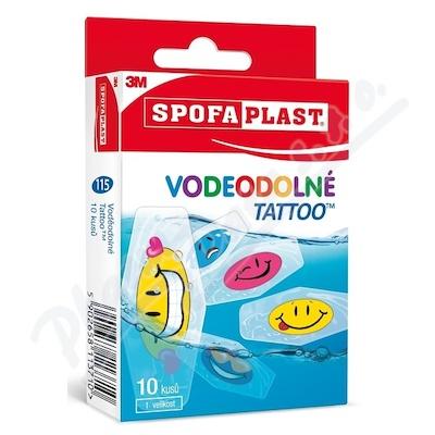 3M Spofaplast Voděodolné Tattoo 10ks