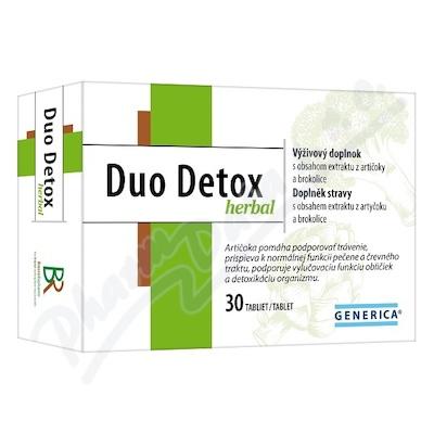 Duo Detox herbal tbl.30 Generica