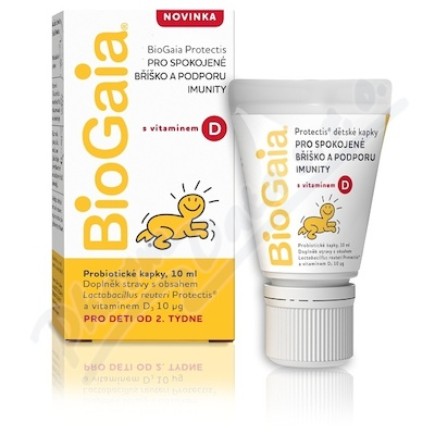 BioGaia Protectis probio.kapky s vitamínem D 10ml