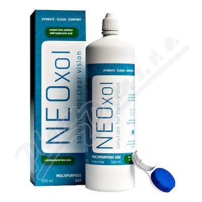 Neoxol 500 ml roztok na kontaktní čočky+pouzdro