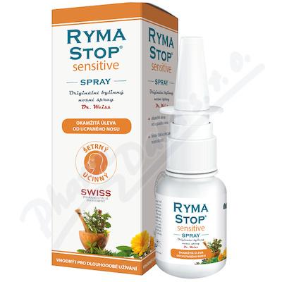 RymaSTOP SENSITIVE Dr.Weiss-bylin.nosní spray 30ml