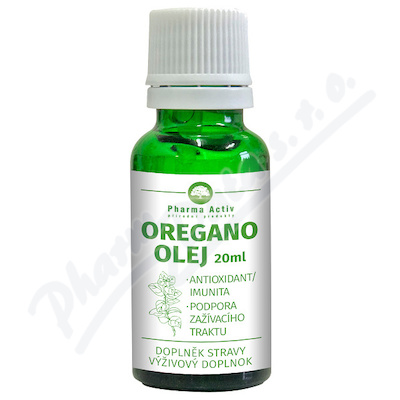 Oregano olej s kapátkem 20ml Pharma Grade