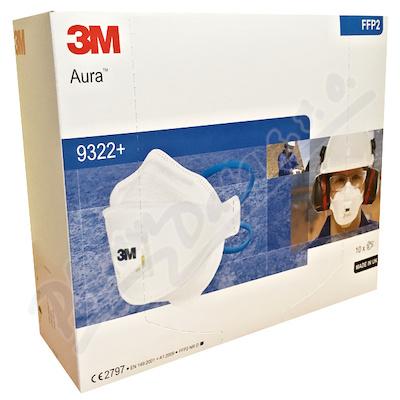 Respirátor Aura 9322+ 10ks