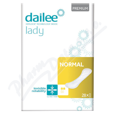 Dailee Lady Premium NORMAL inko.vložky 28ks