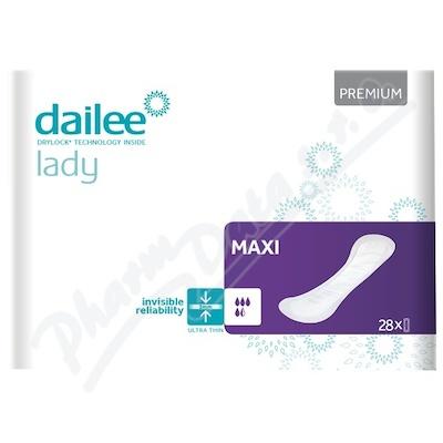 Dailee Lady Premium MAXI inko.vložky 28ks