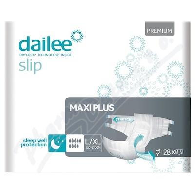 Dailee Slip Premium MAXI PLUS inko.kalh.L/XL 28ks