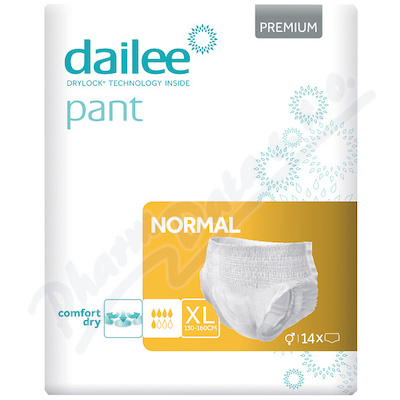 Dailee Pant Premium NORMAL inko.kalhotky XL 14ks