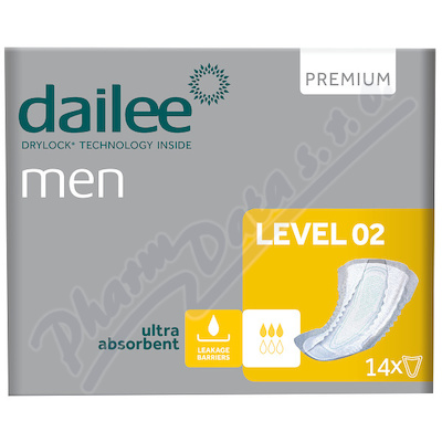Dailee Men Premium Level 2 inko.vložky 14ks