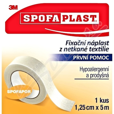 3M Spofaplast 731 Fix.náplast netk.text.5mx12.5mm