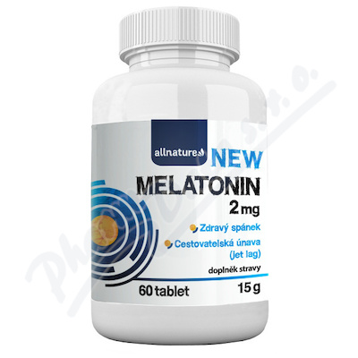 Allnature Melatonin 2 mg tbl.60