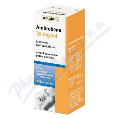 Ambrobene sol.100ml 7.5mg/ml