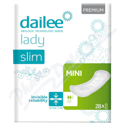 Dailee Lady Premium Slim MINI inko.vložky 28ks