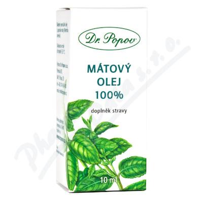 Dr.Popov Mátový olej 100% 10ml