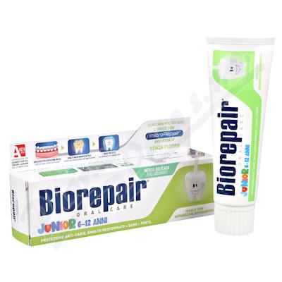 Biorepair Junior 6-12let zubní pasta máta 75ml
