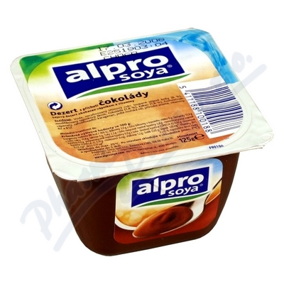 Alpro Sójový dezert čokoládový 125g