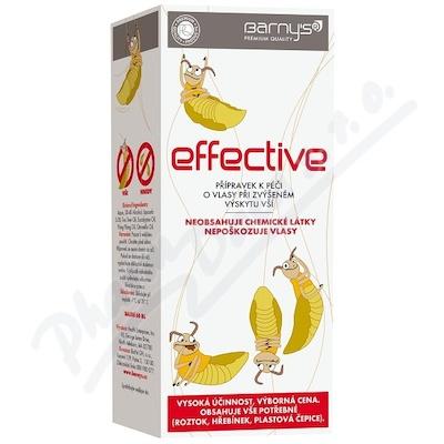 Barnys Effective 60ml při zvýš.výskytu vší