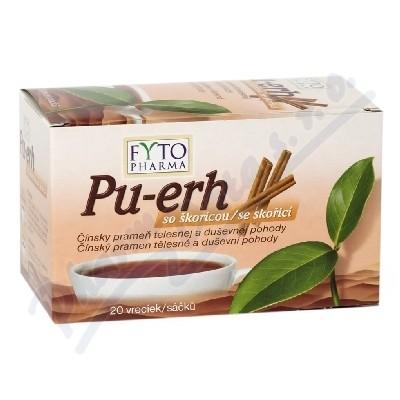 Pu-erh se skořicí 20x1.5g n.s. Fytopharma