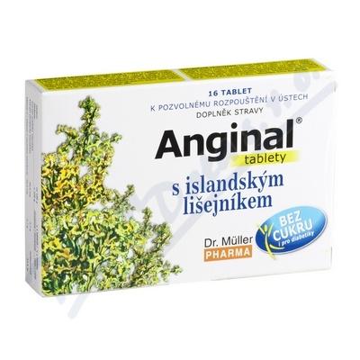 Anginal s island.lišejníkem tbl.16 Dr.Müller