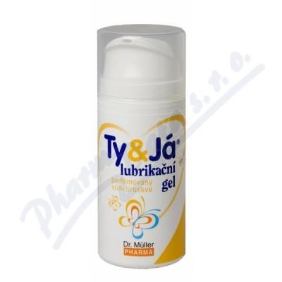 Lubrik.gel Ty&Já parf.vůní broskve 100ml Dr.Müller