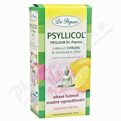 Dr.Popov Psyllicol příchuť citron 100g